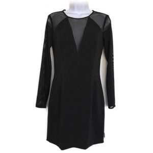 JAYGODFREY bodycon black long sleeve mini dress